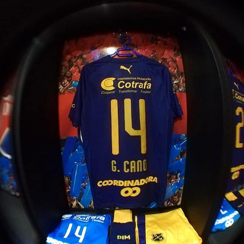 Camisa de 105 anos do Independiente Medellín 2018 PUMA
