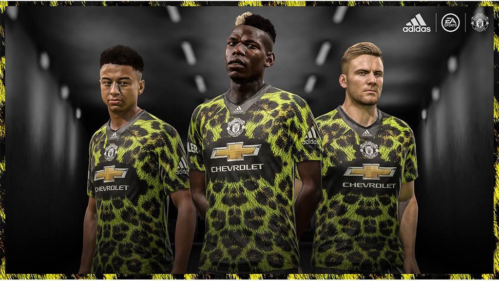 Camisa do Manchester United para o FIFA 19 Adidas EA Sports