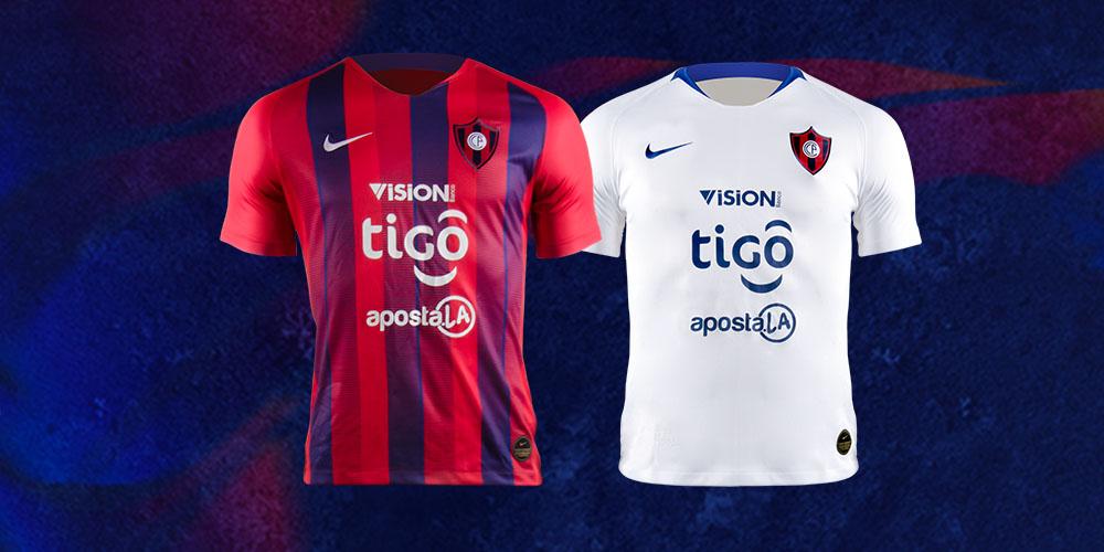 Camisas do Cerro Porteño 2019 Nike