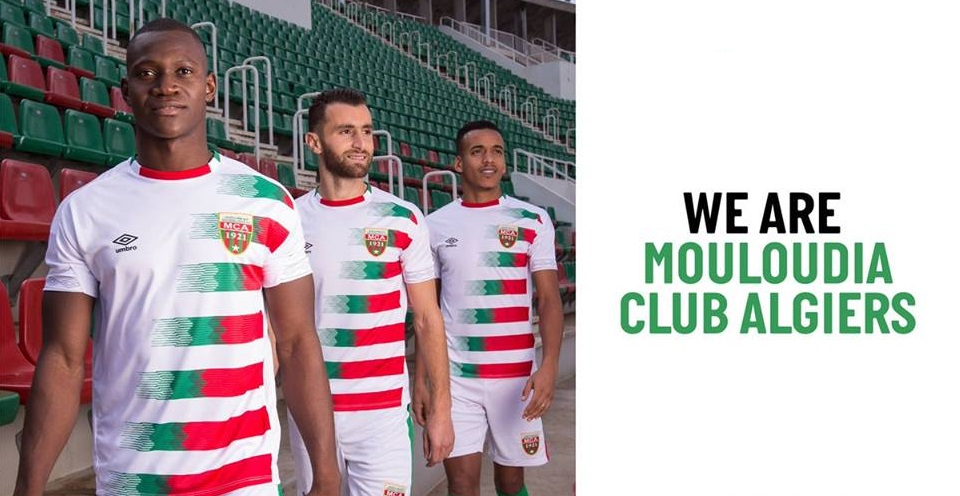 Camisas do Mouloudia Club 2018-2019 Umbro