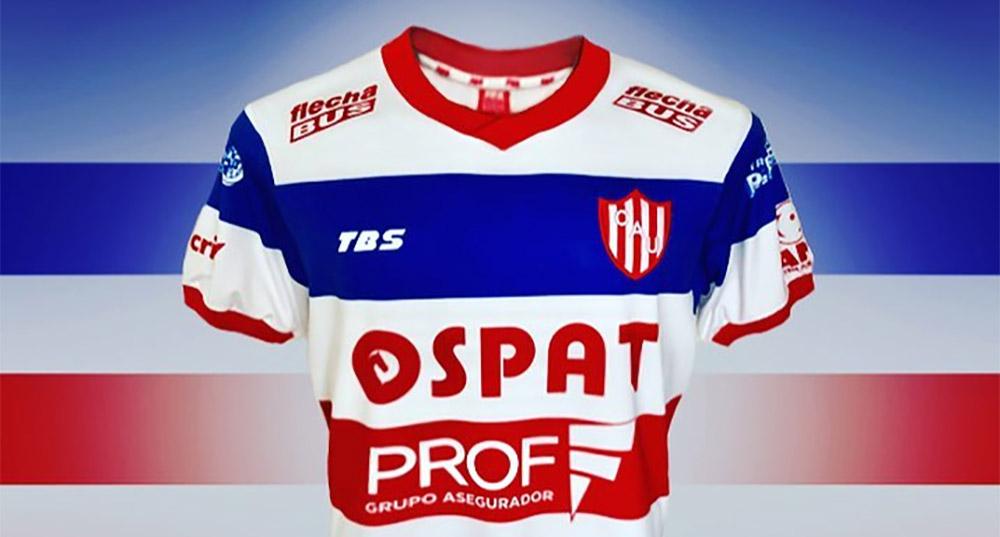 Camisas do Unión Santa Fé 2018-2019 TBS