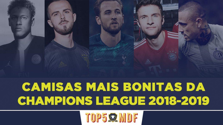 Camisas mais bonitas da Champions League 2018-2019 - TOP5
