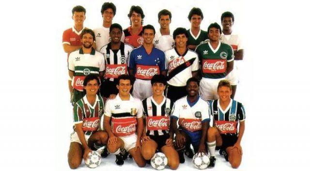 Coca-cola e o patrocínio nas camisas da Copa União em 1987