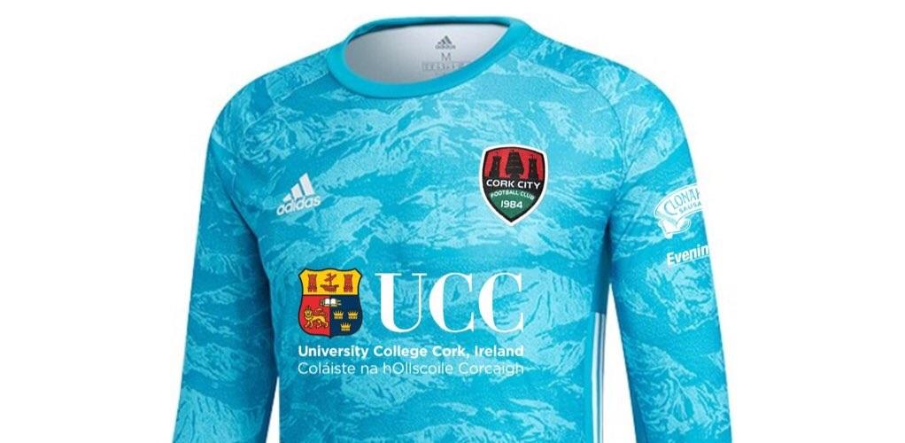 Cork City estreia novo template de goleiros da Adidas