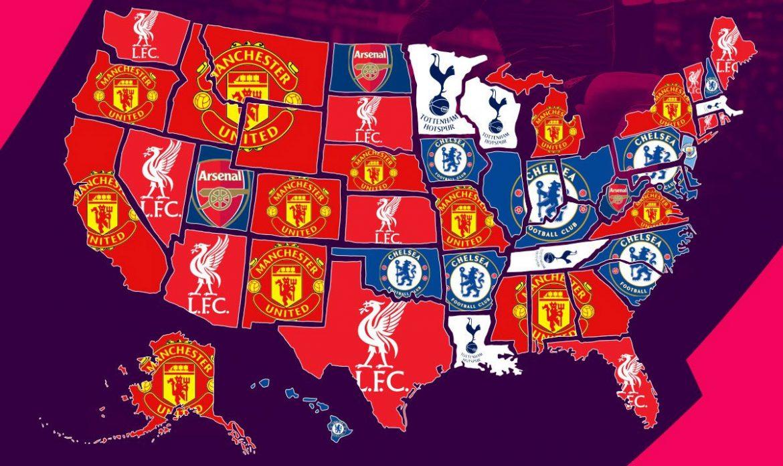Manchester United é o clube inglês que vende mais camisas nos EUA abre