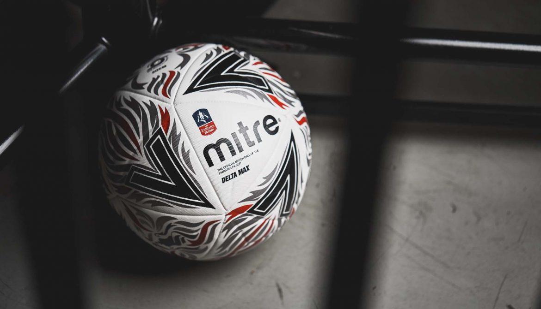 Mitre Delta Max Bola oficial da FA Cup 2018-2019