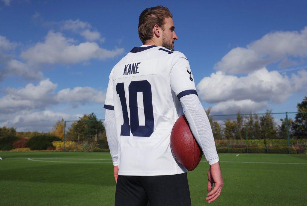 Nike lança camisas de futebol americano para Tottenham e Chelsea