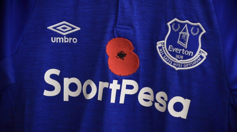 Por que times ingleses usam flores vermelhas em suas camisas em novembro