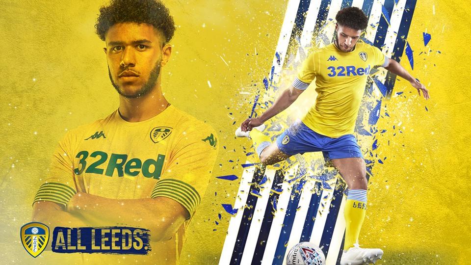 Terceira camisa do Leeds United 2018-2019 Kappa