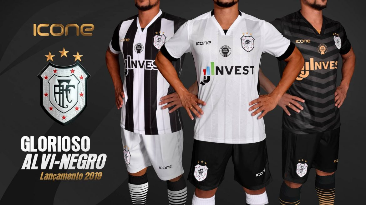 Camisas do Americano FC 2019 Ícone Sports