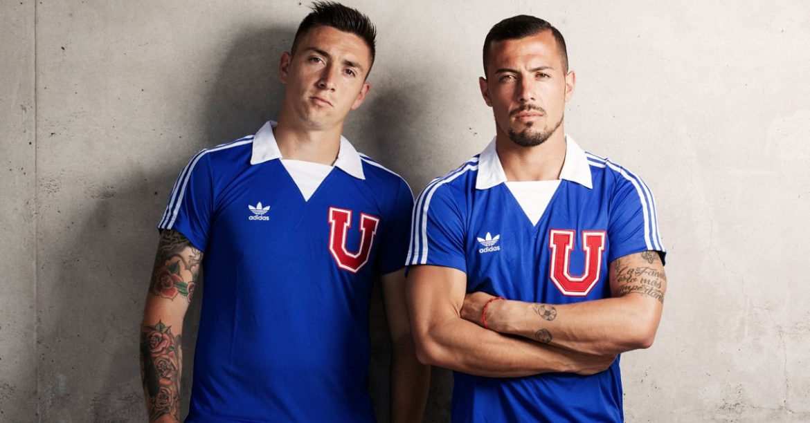 Camisa retrô da Universidad de Chile Adidas Originals