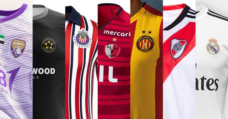 Camisas das equipes do Mundial de Clubes da FIFA 2018
