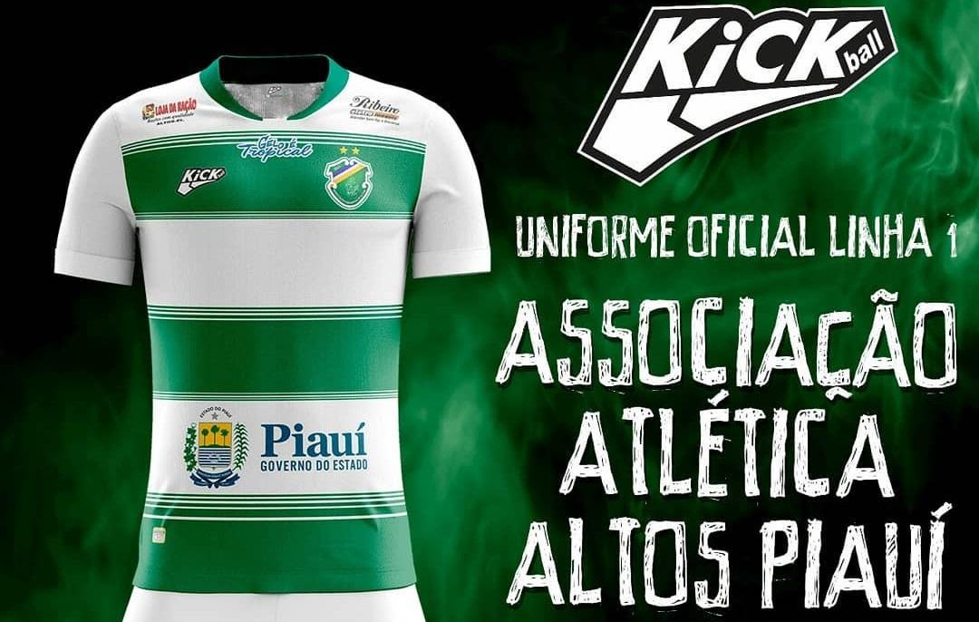 Camisas do Altos-PI 2019 Kickball