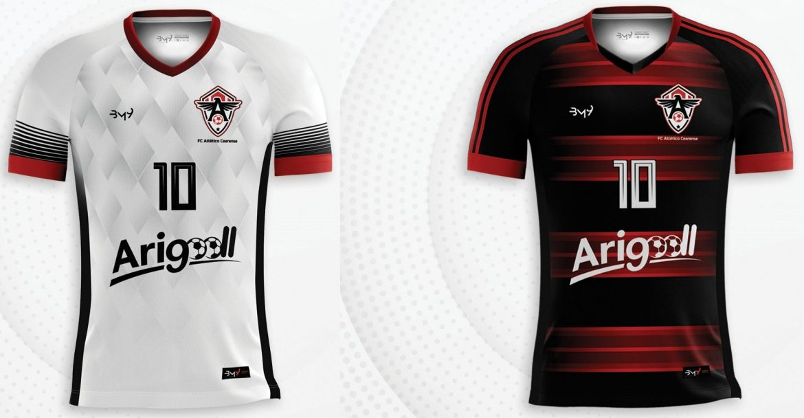 Camisas do Atlético-CE 2019 BM9 Sports