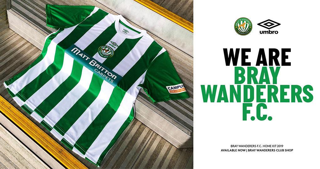 Camisas do Bray Wanderers 2019 Umbro