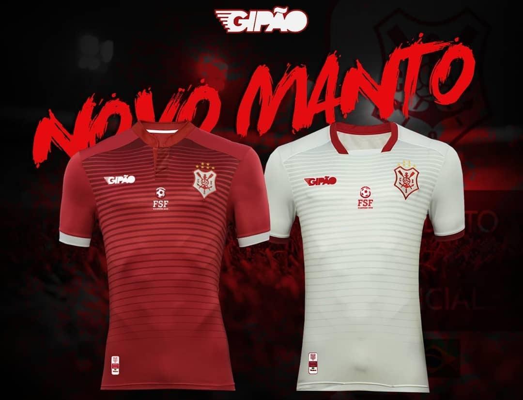 Camisas do CS Sergipe 2019 Gipão