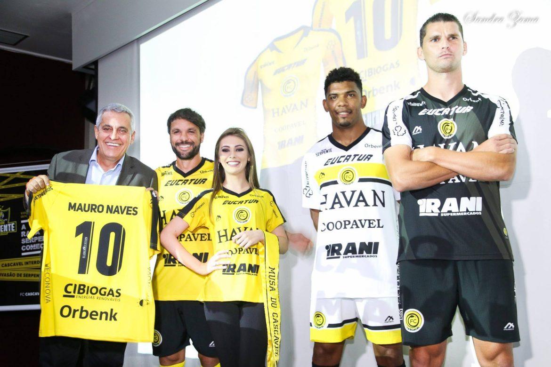 Camisas do FC Cascavel 2019 Meinerz