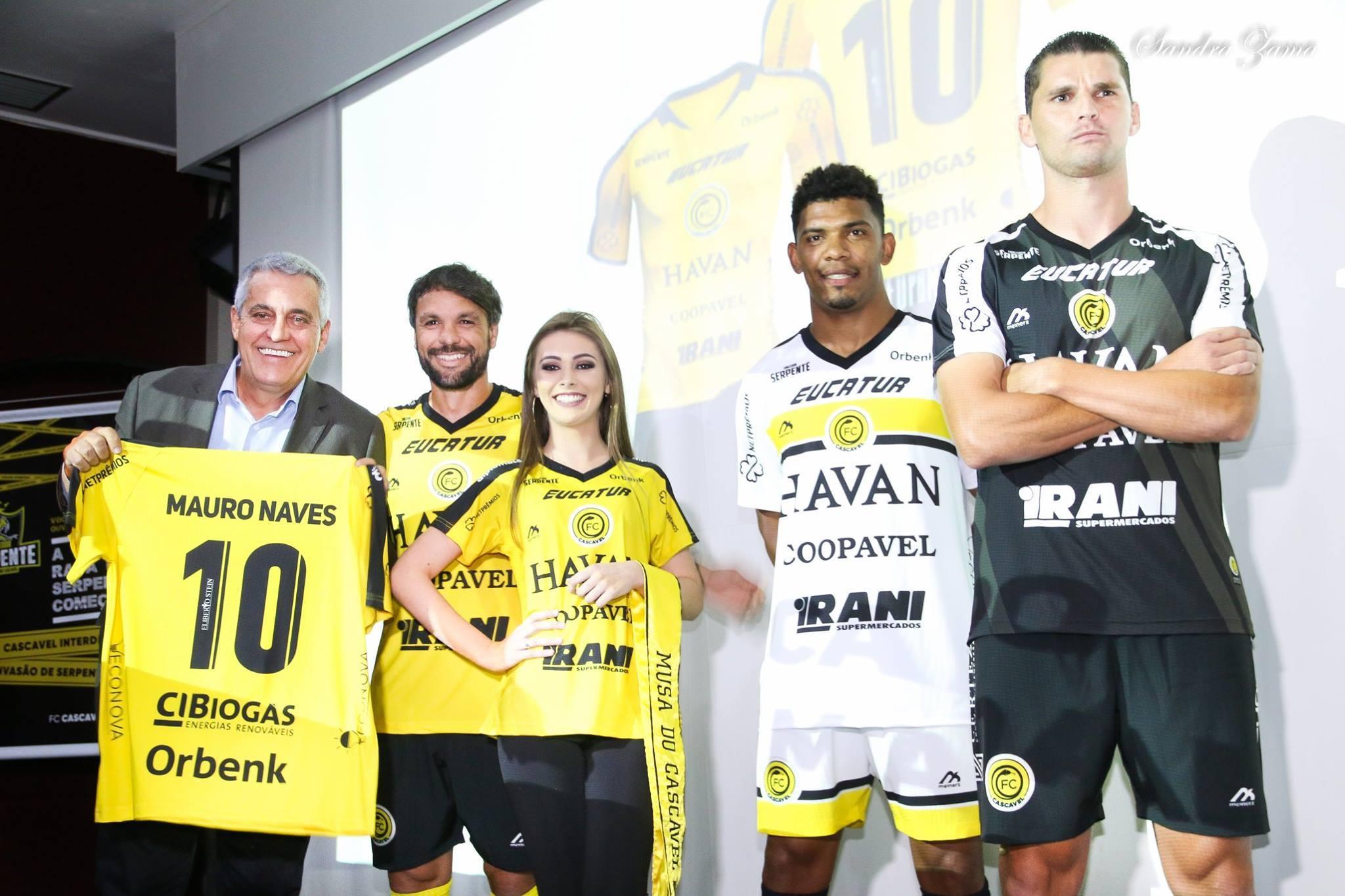 Novas camisas do FC Cascavel 2019 Meinerz