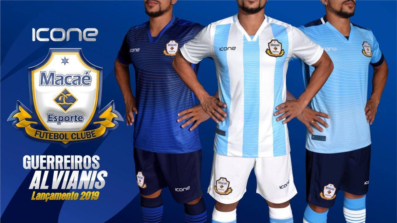 Camisas do Macaé 2019 Ícone Sports