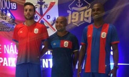 Camisas do Marcílio Dias 2019 1919