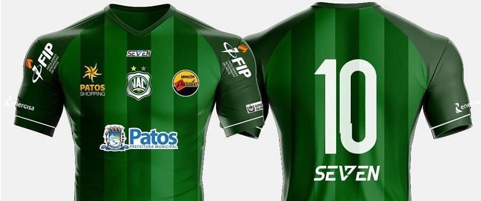 Camisas do Nacional de Patos 2019 Seven