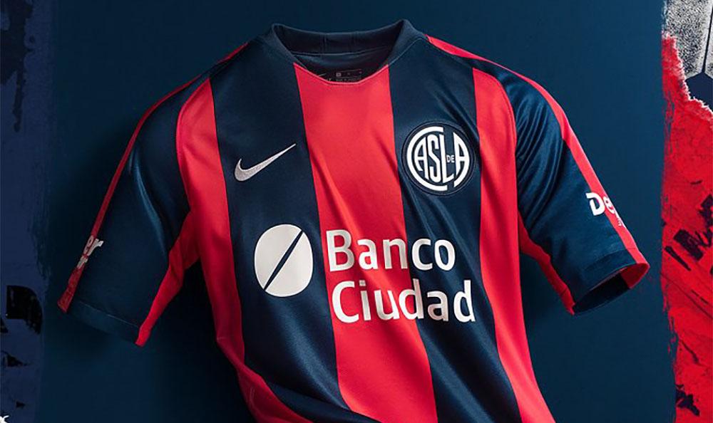 Camisas do San Lorenzo 2019 Nike abre