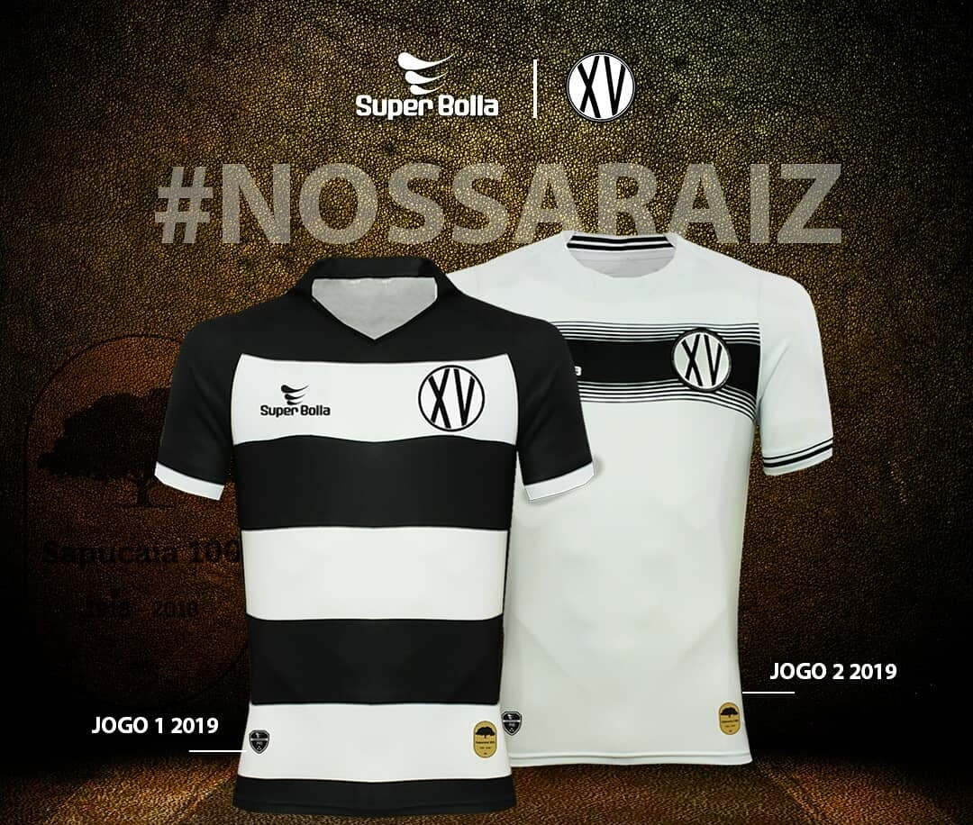 Camisas do XV de Piracicaba 2019 Super Bolla