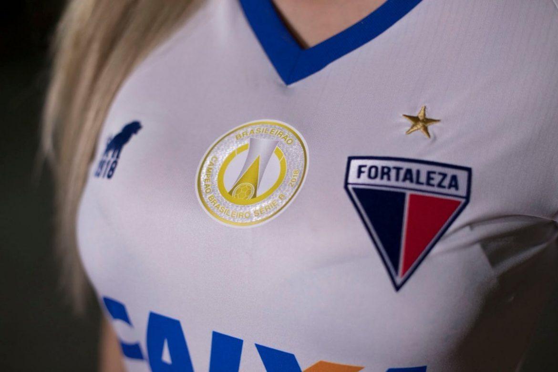 Glória Camisa reserva do Fortaleza 2019 Leão1918