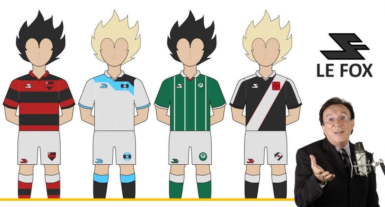 Leitor MDF Camisas fantasy de clubes brasileiros (Oscar Tyeed) Moacyr