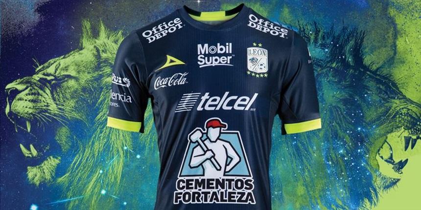 Terceira camisa do Club León 2019 Pirma