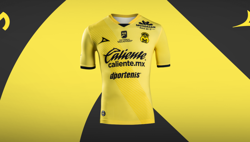 Terceira camisa do Monarcas Morelia 2019 Pirma