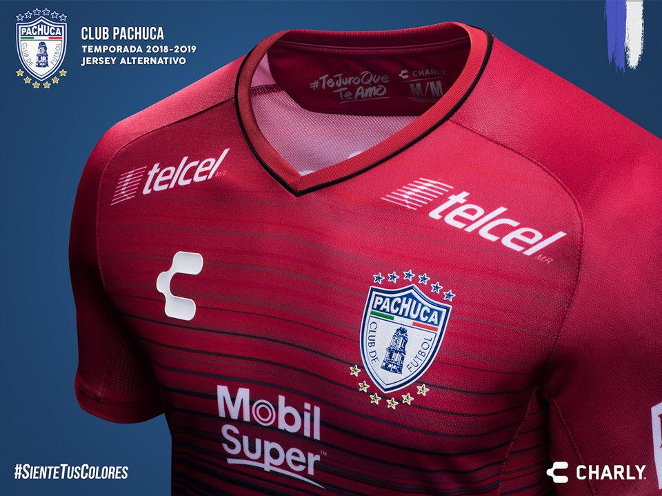 Terceira camisa do Pachuca 2019 Charly