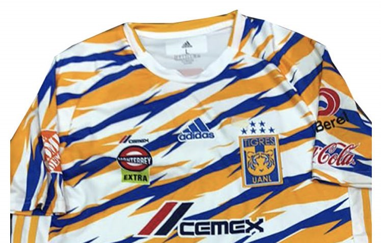 Terceira camisa do Tigres UANL 2019 Adidas
