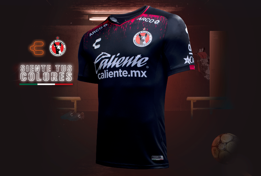 Terceira camisa do Tijuana 2019 Charly