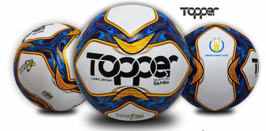 Topper lança nova logo e apresenta bolas do Brasileirão 2019