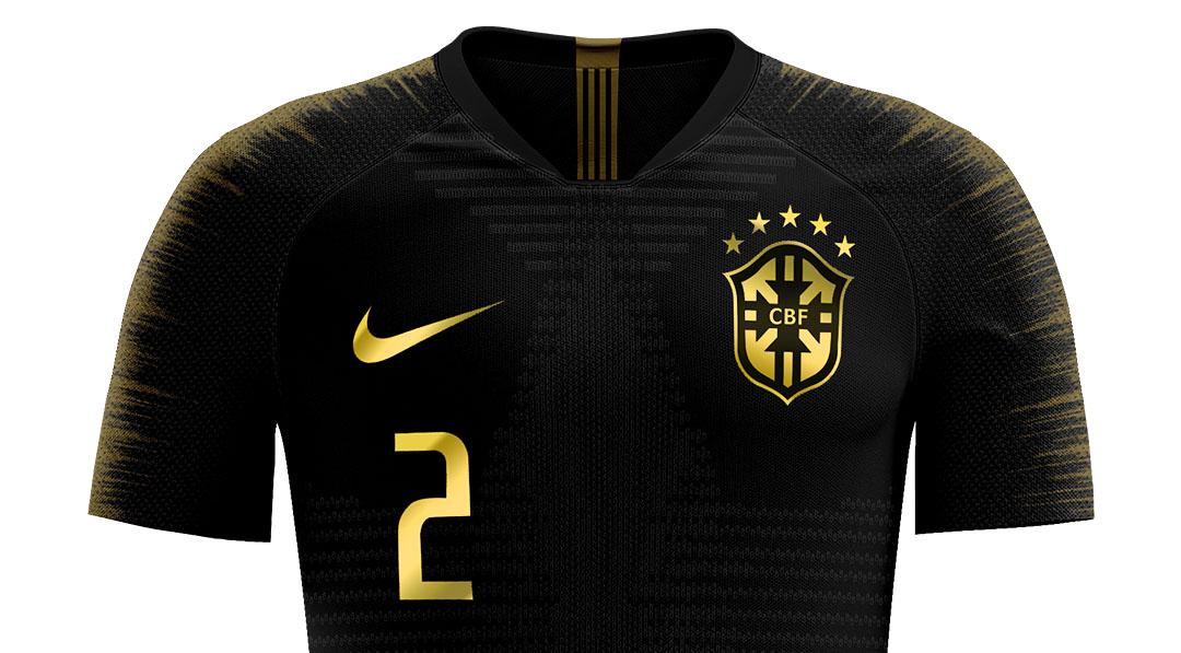 Camisa 3 do Brasil 2019-2020 Amazônia Nike Saulo Christian