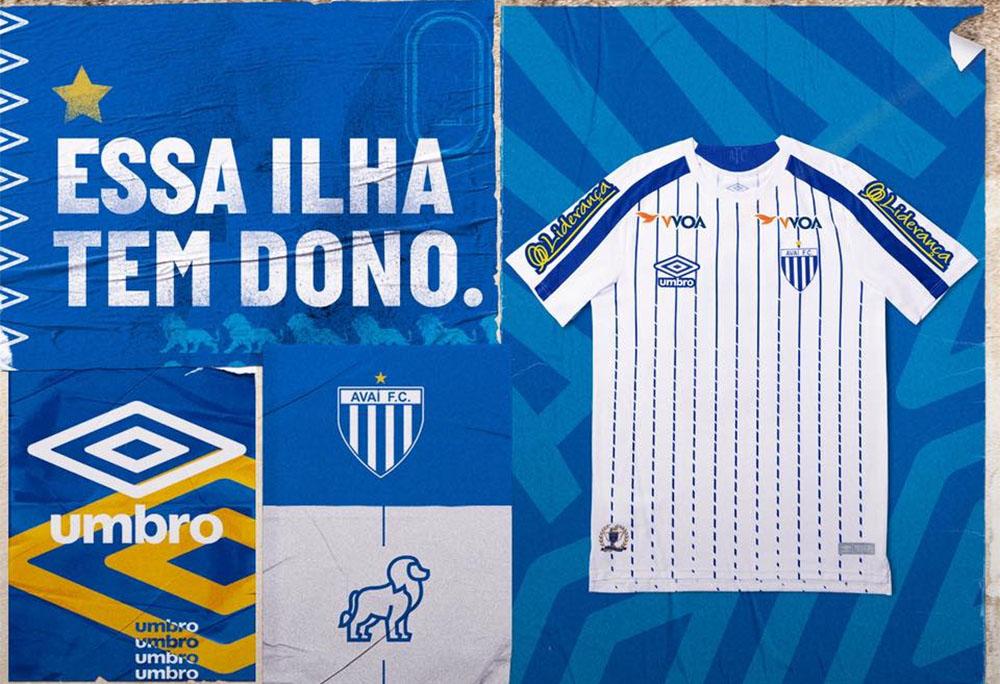 Camisa reserva do Avaí 2019 Umbro