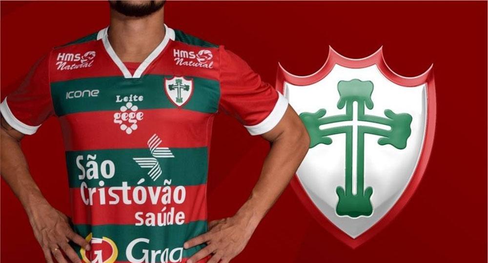 Camisas da Portuguesa 2019 Ícone Sports abre