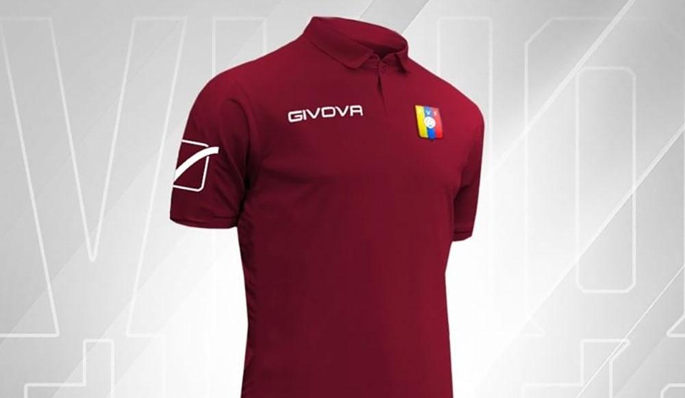 Camisas da Venezuela 2019 Givova abre