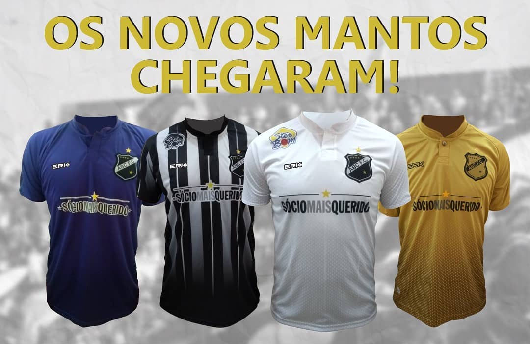 Camisas do ABC FC 2019 ERK Sport