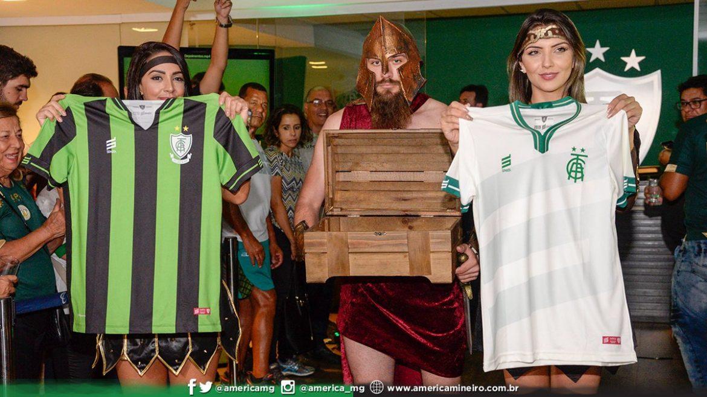 Camisas do América-MG 2019 Sparta