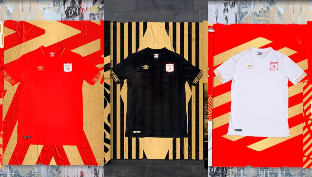 Camisas do América de Cali 2019 Umbro