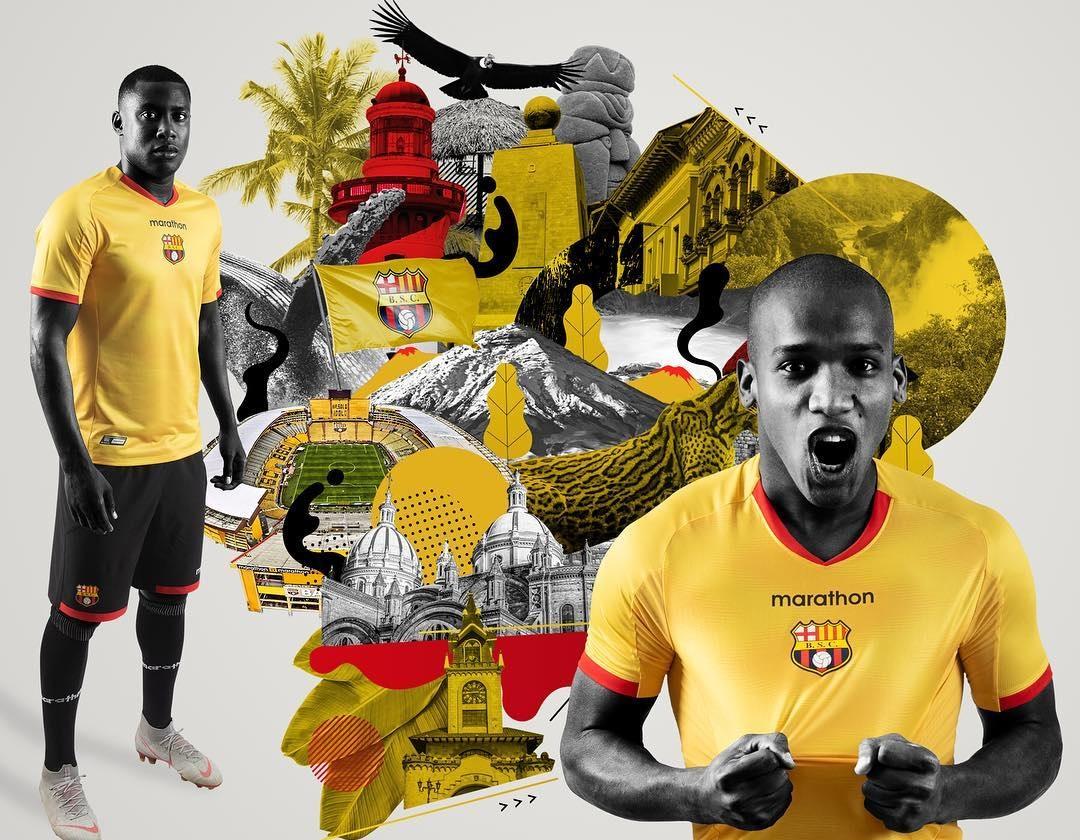 Camisas do Barcelona SC 2019 Marathon