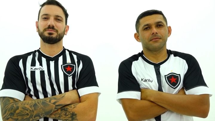 Camisas do Botafogo-PB 2019 Karilu