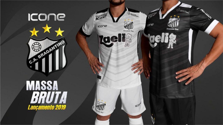 Camisas do Bragantino 2019 Ícone Sports