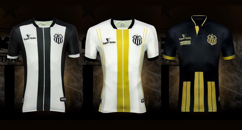 Camisas do Central de Caruaru 2019 Super Bolla abre