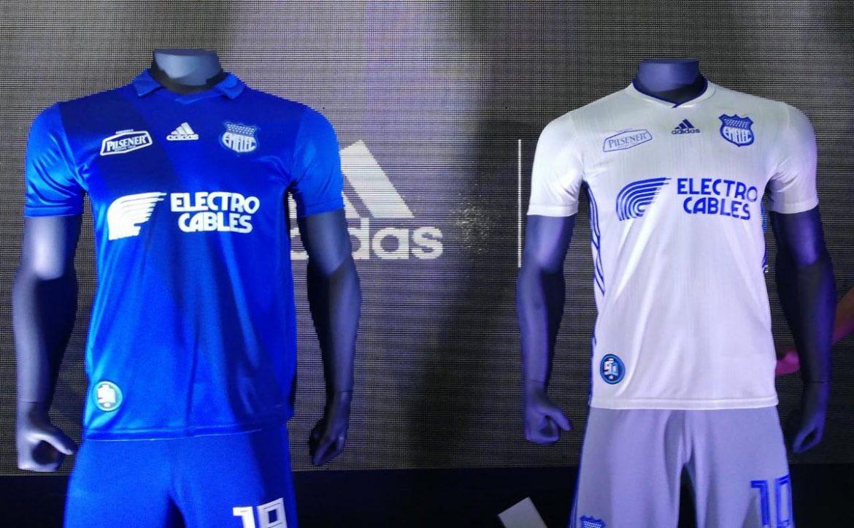 Camisas do Emelec 2019 Adidas abre