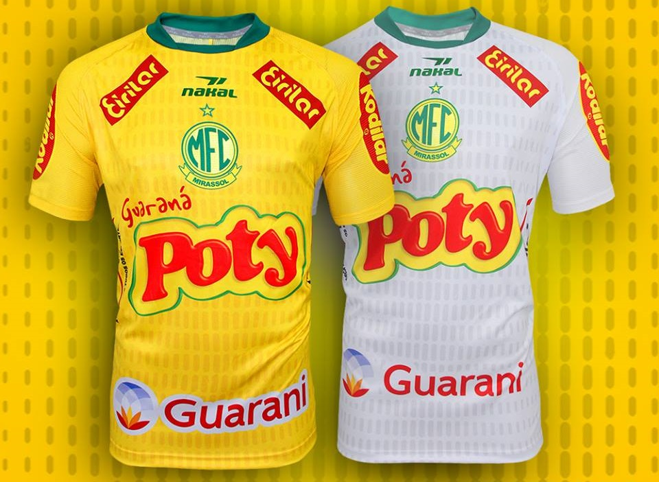 Camisas do Mirassol 2019 Nakal