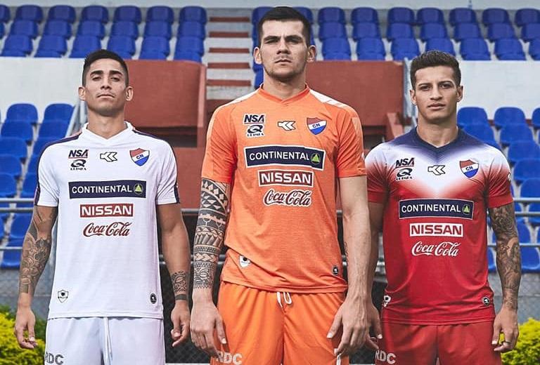 Camisas do Nacional do Paraguai 2019 Kyrios Sport