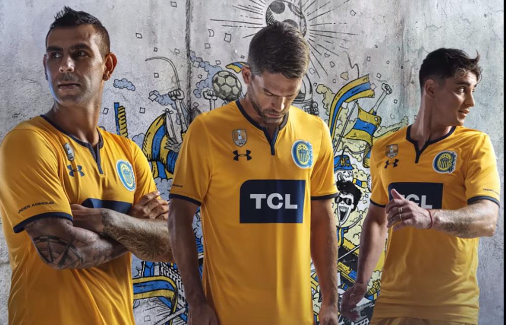 Camisas do Rosario Central 2019 Under Armour Reserva abre